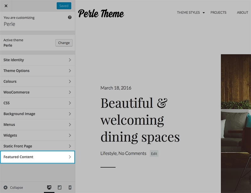 Perle - Featured Content