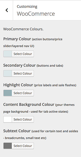 Perle - WooCommerce Colors