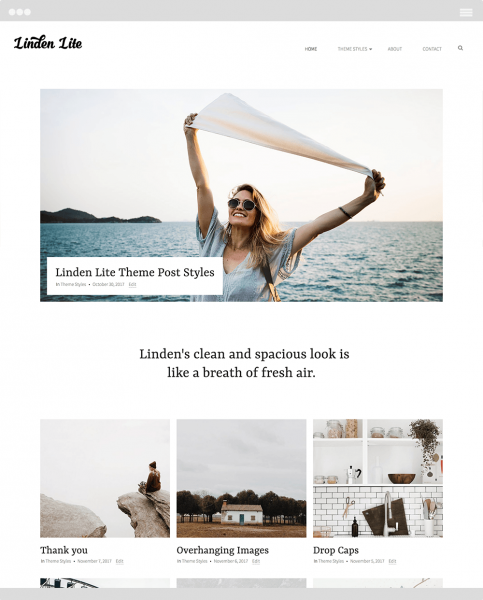 Linden Lite Featured