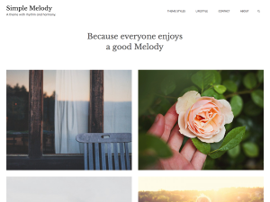 Simple Melody Theme